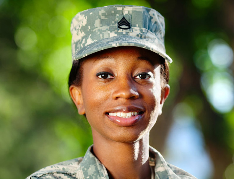 Woman in the Army