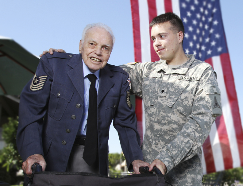 Air Force Young and Old